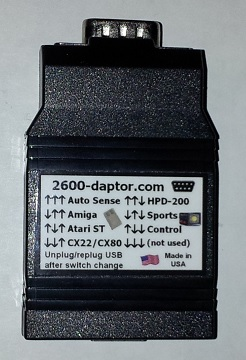2600-daptor D9 - 9-pin controller to USB interface